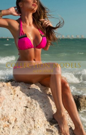 NY escorts 24 y.o. сhestnut lingerie model Angel